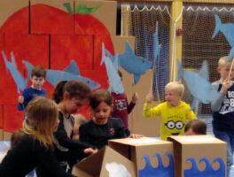 De Reuzenperzik – theater in één dag