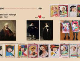 Rembrandt- Workshop groep 1 en 2